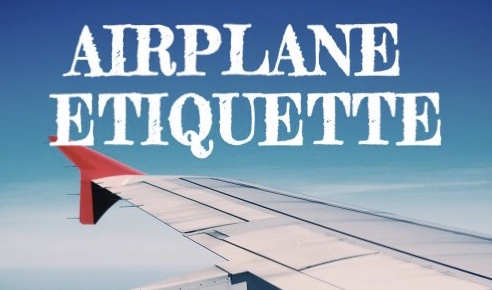 Guide to airplane etiquettes