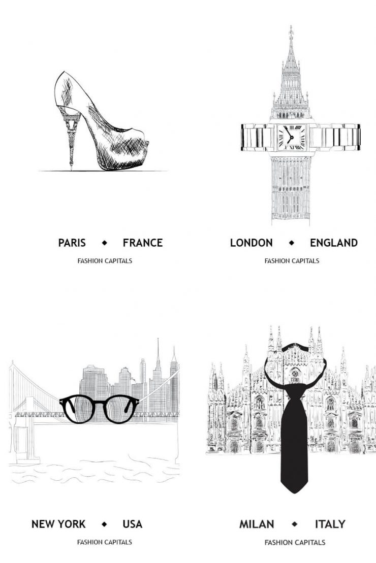 Top 5 fashion hubs in the world