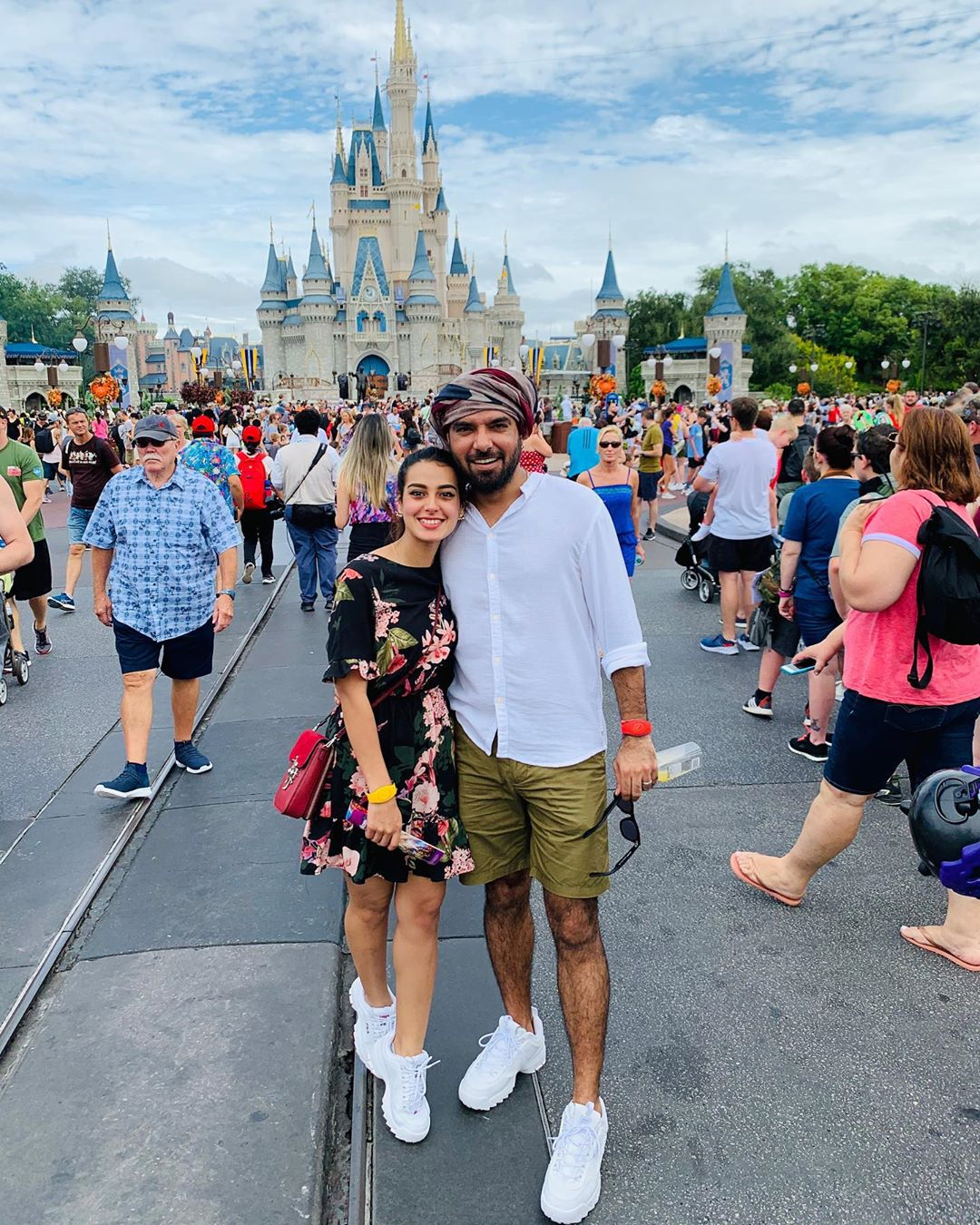 Beautiful Pictures of Iqra Aziz and Yasir Hussain at Disney Land USA