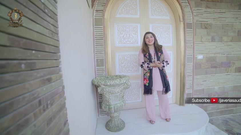Actress Javeria Saud's Luxury Banglow in Karachi - Exclusive Pictures