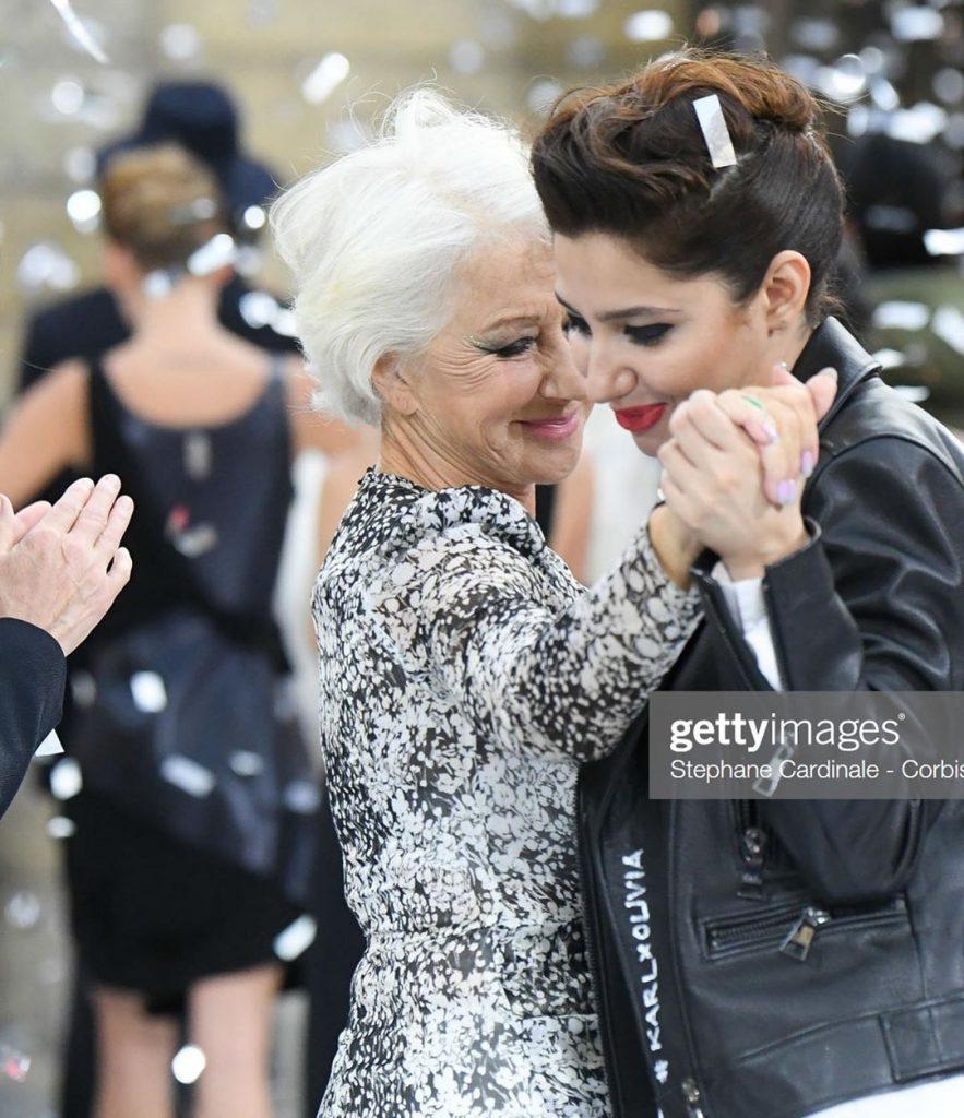 Lebanese actress Daniella Rahme & Mahira Khan dance together in the middle of Paris