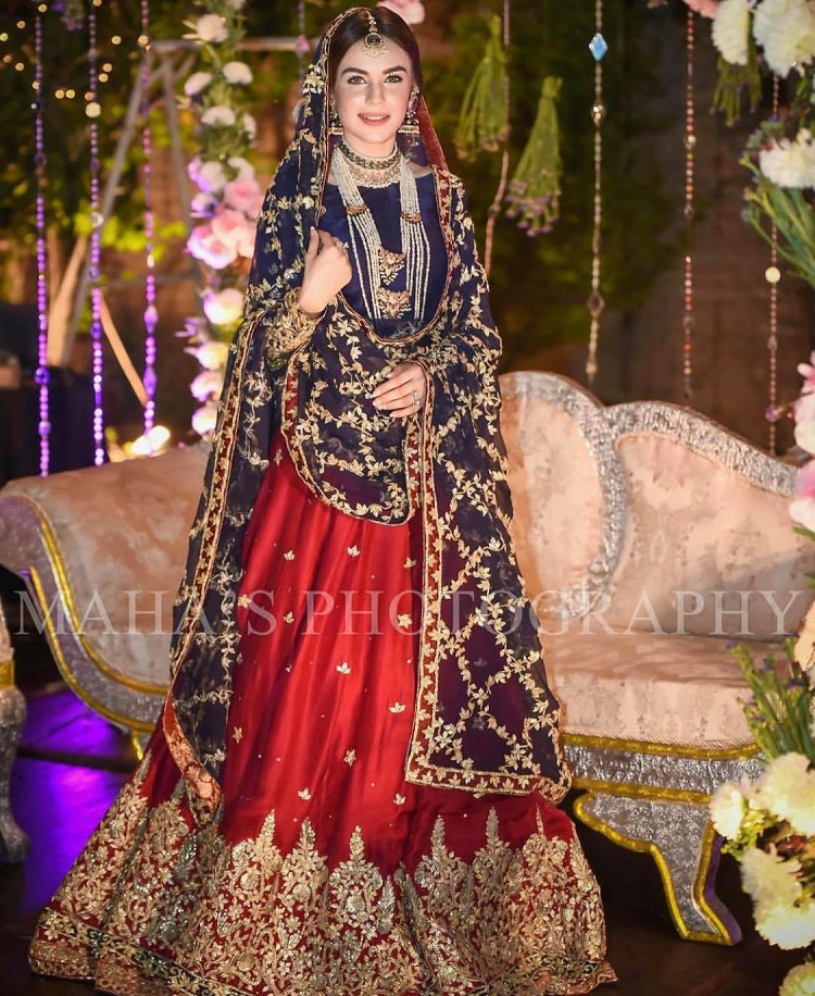 Most Beautiful Bridal Dresses Of Pakistani Celebrities