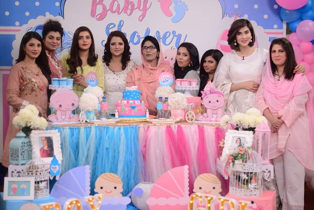 Actress Mizna Waqas From Drama Suno Chanda Blessed with a Baby Boy