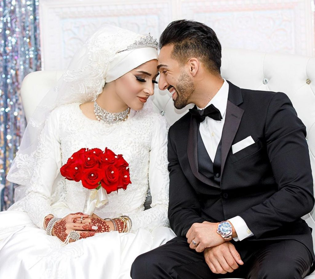 sham idrees and froggy had a baby gender reveal party 10