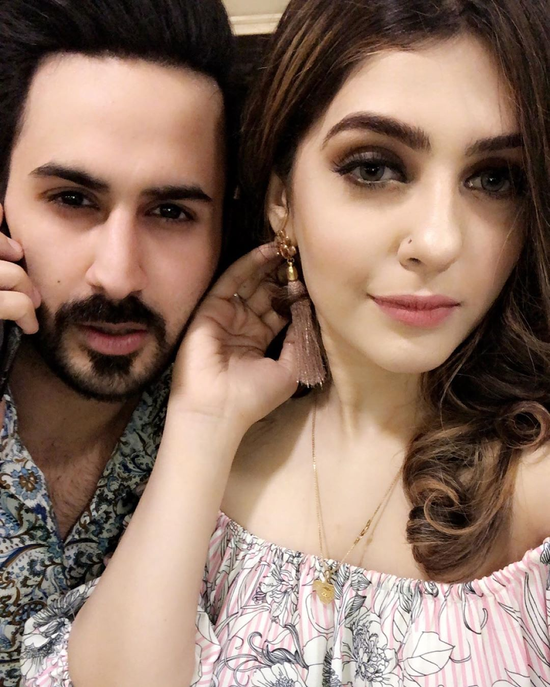Actor Shan Baig with his Wife Michelle Shan – Latest Pictures