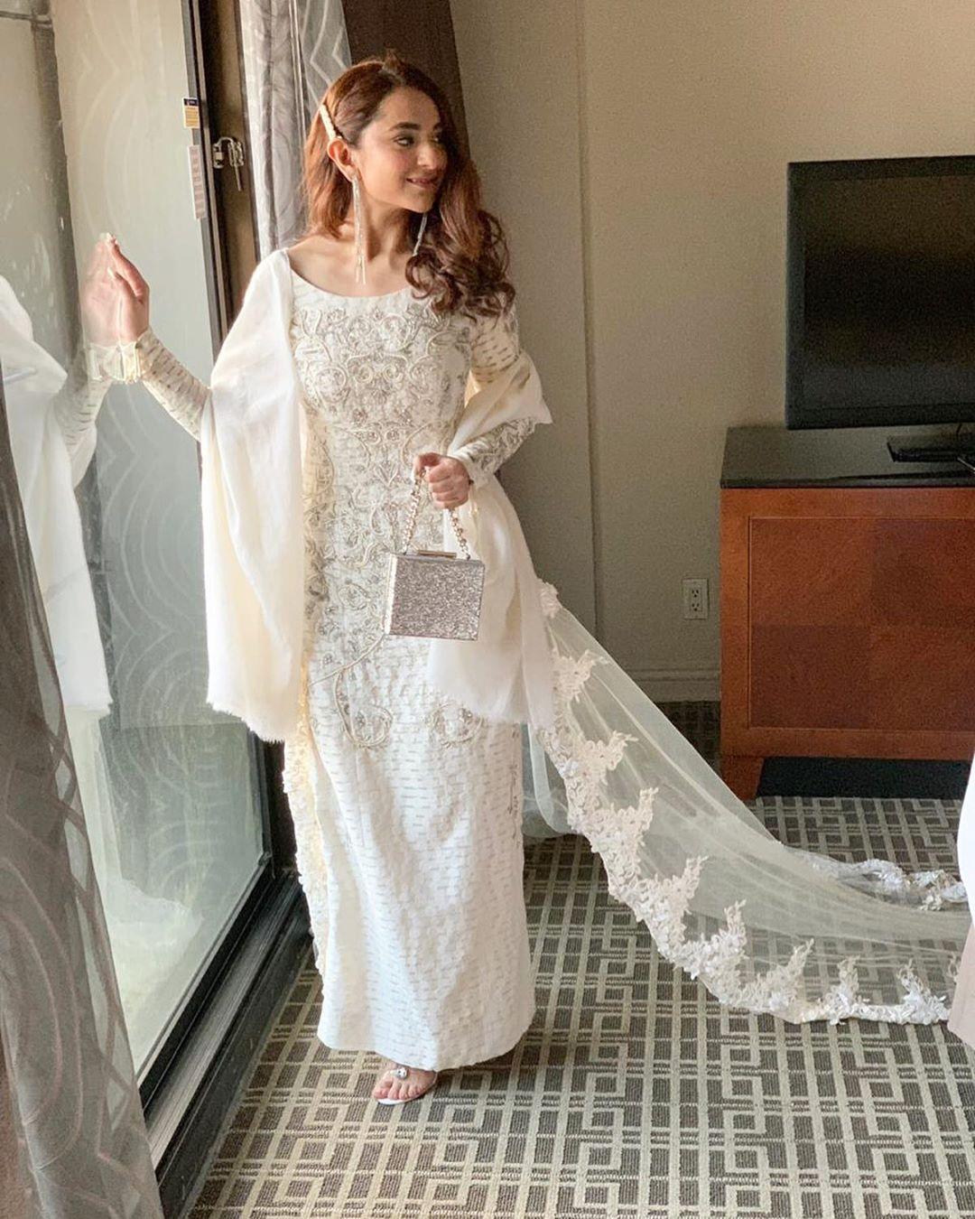 Beautiful Actress Yumna Zaidi at Hum Awards 2019