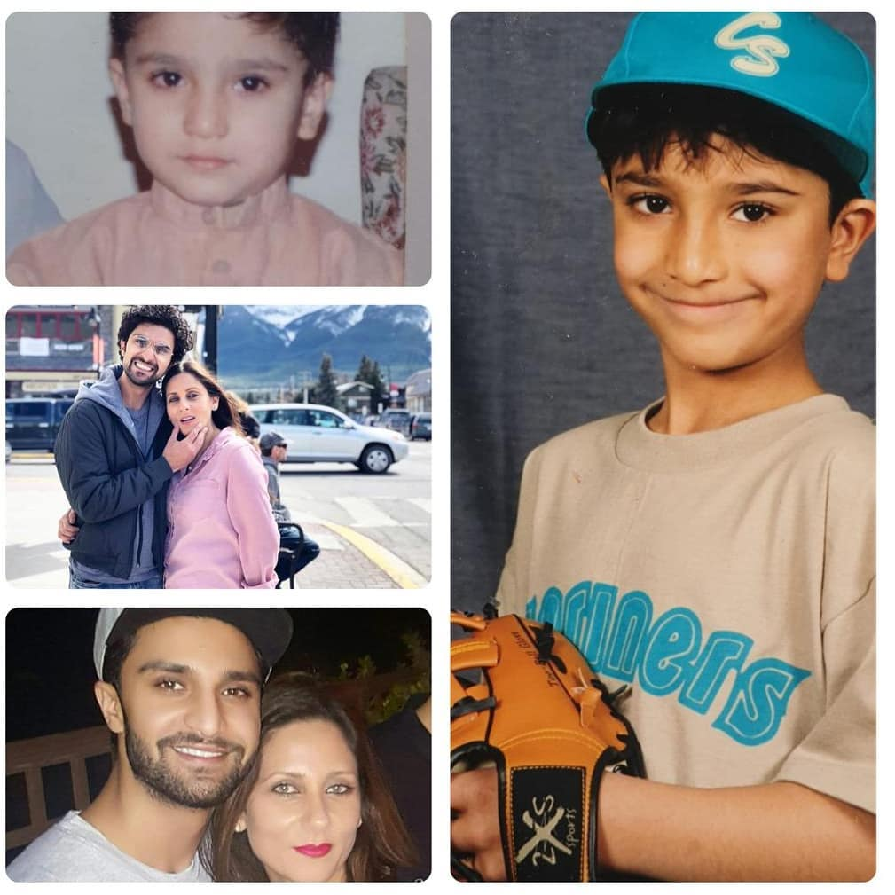 Ahad Raza Mir shares cute picture from childhood