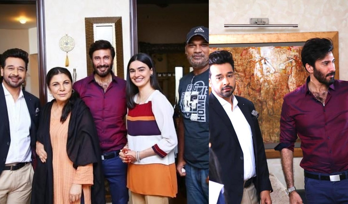 Aijaz Aslam Shares A Lighter Moment From The Sets Of Log Kya Kahainge Reviewit Pk