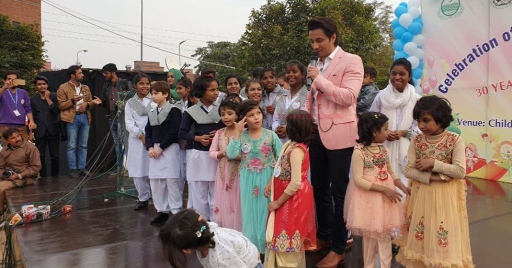 Ali Zafar Childrens Day 4