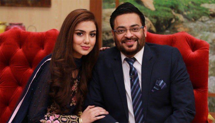 Amir Liaquat Proposed Fiza Ali In Front Of His Wife Tuba Amir4
