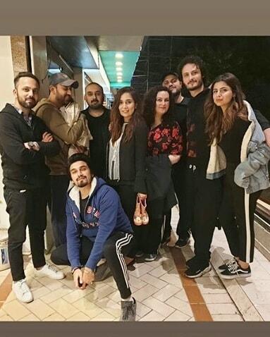 Celebrities Rehearsing For Imran Kazmis Shendi Dance 2