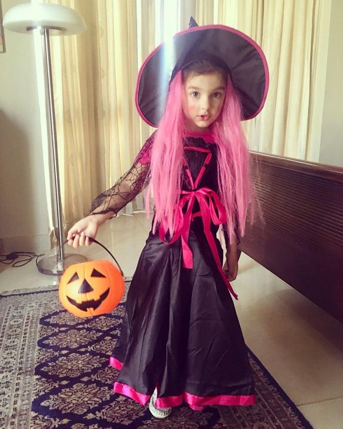 Celebs Kids Halloween 1