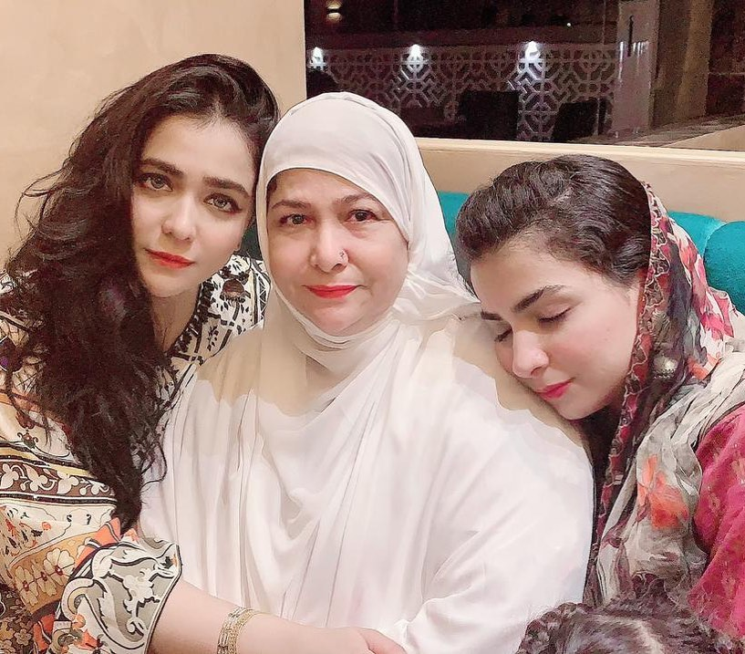 Dua Malik Wrote A Beautiful Note For Humaima Malick And Her Mother