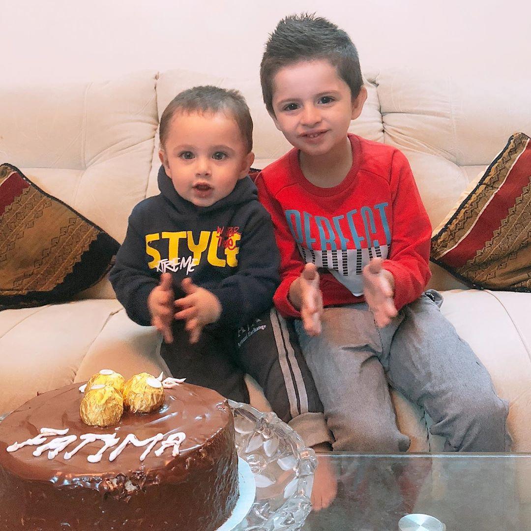 Fatima Effendi and Kanwar Arsalan Celebrated Their Wedding Anniversary with Kids