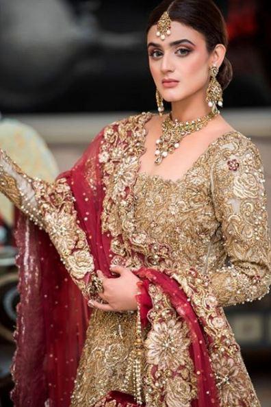 Beautiful Bridal Photo Shoot of Hira Mani for NickieNina