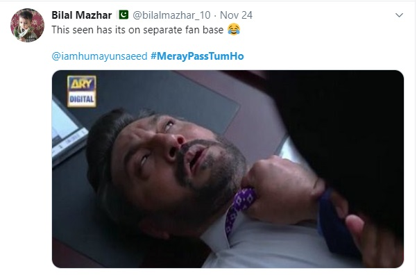 Humayun Saeed thanks Adnan Siddiqui for the 'hit' scene in Meray Pass Tum Ho