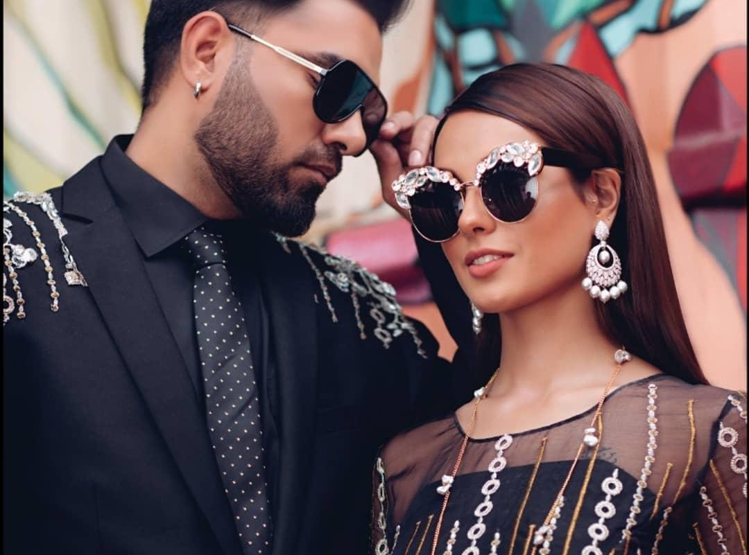Latest Beautiful Photo Shoot of Iqra Aziz and Yasir Hussain