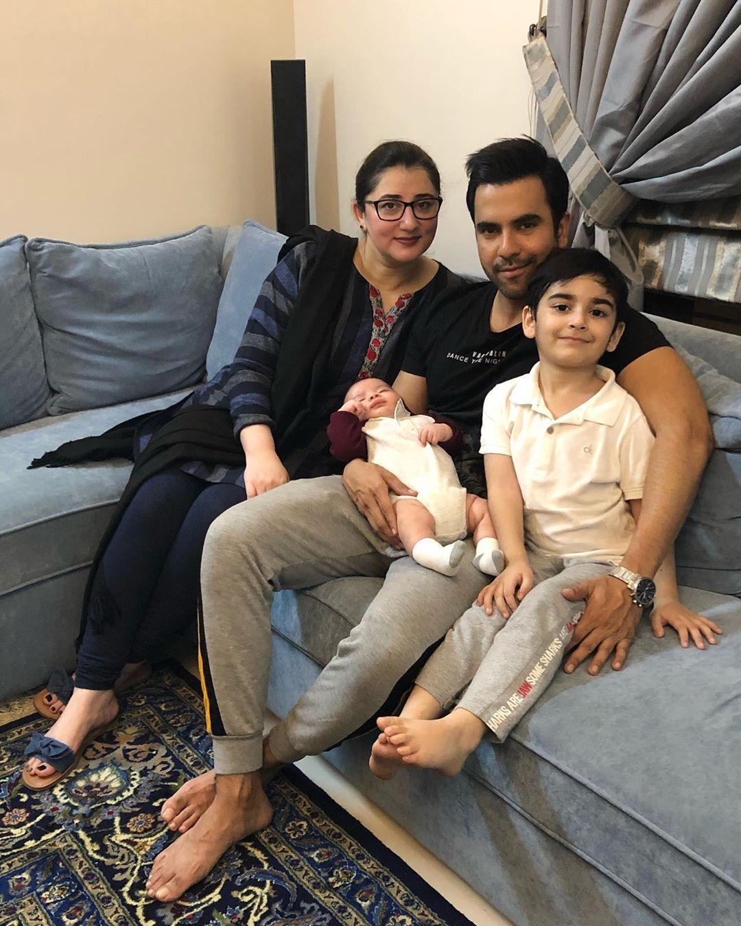 Junaid Khan Family 15