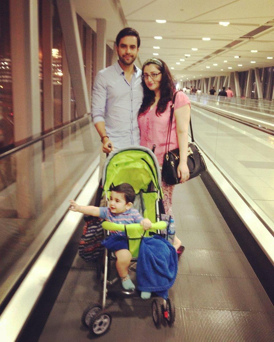 Junaid Khan Family 5
