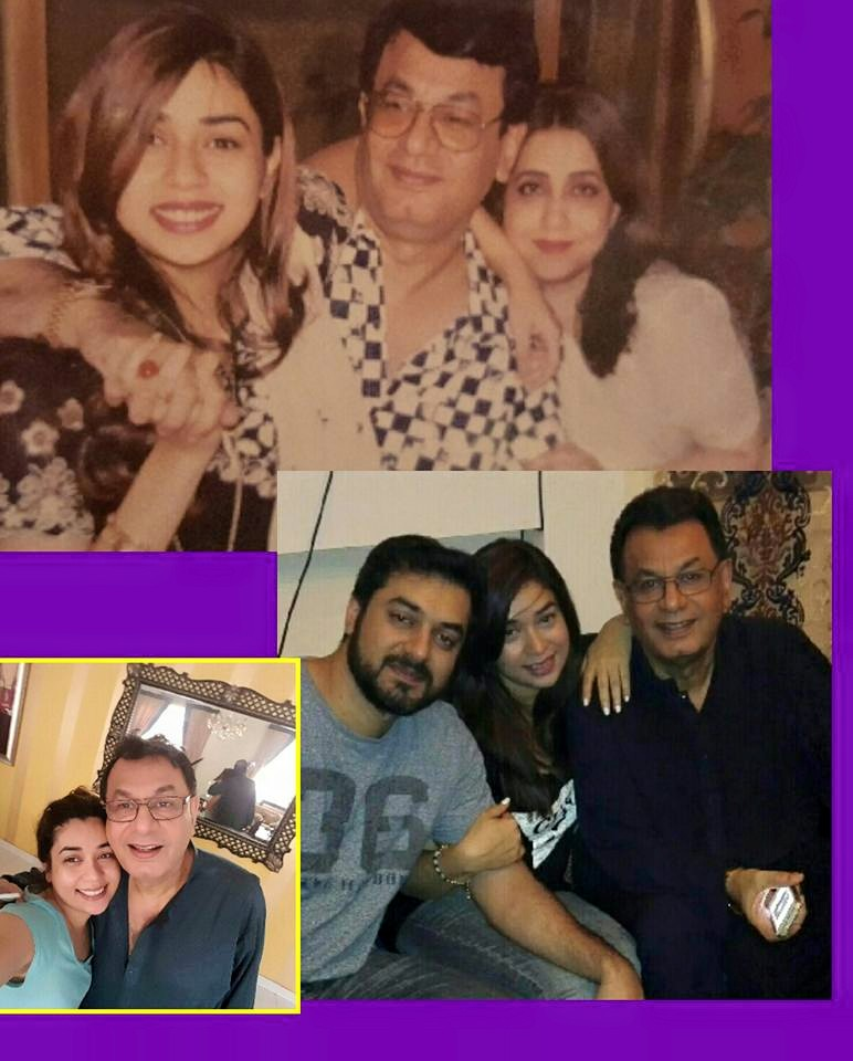 Beautiful Clicks of Singer Komal Rizvi with Family
