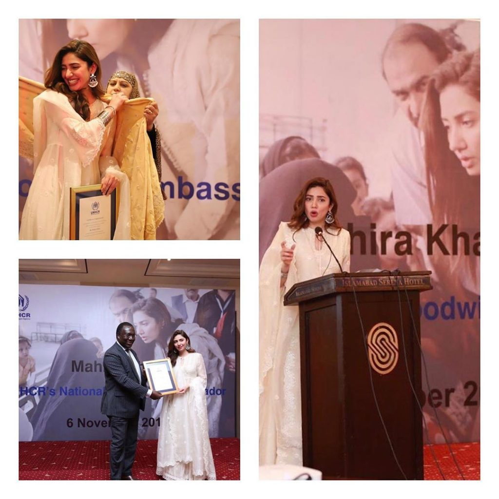 Mahira Khan gets emotional after parents receive letter from UN
