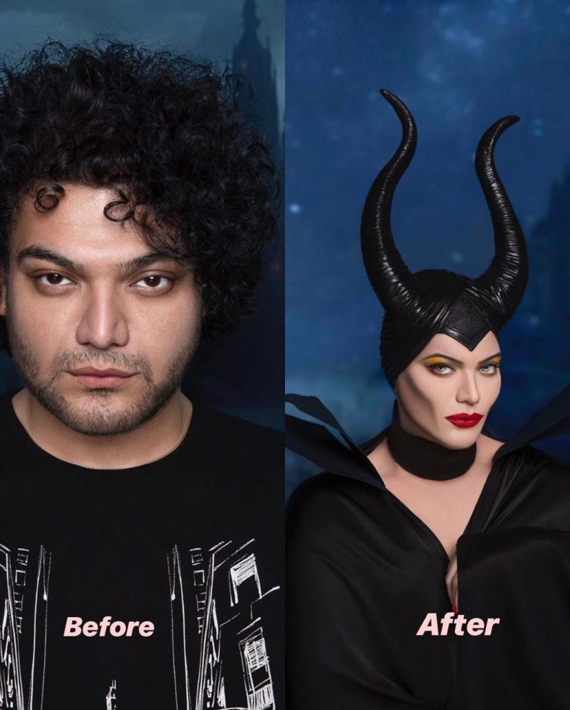 Makeup Artist Shoaib Khan Transformed Himself Into Noor Jehan 2