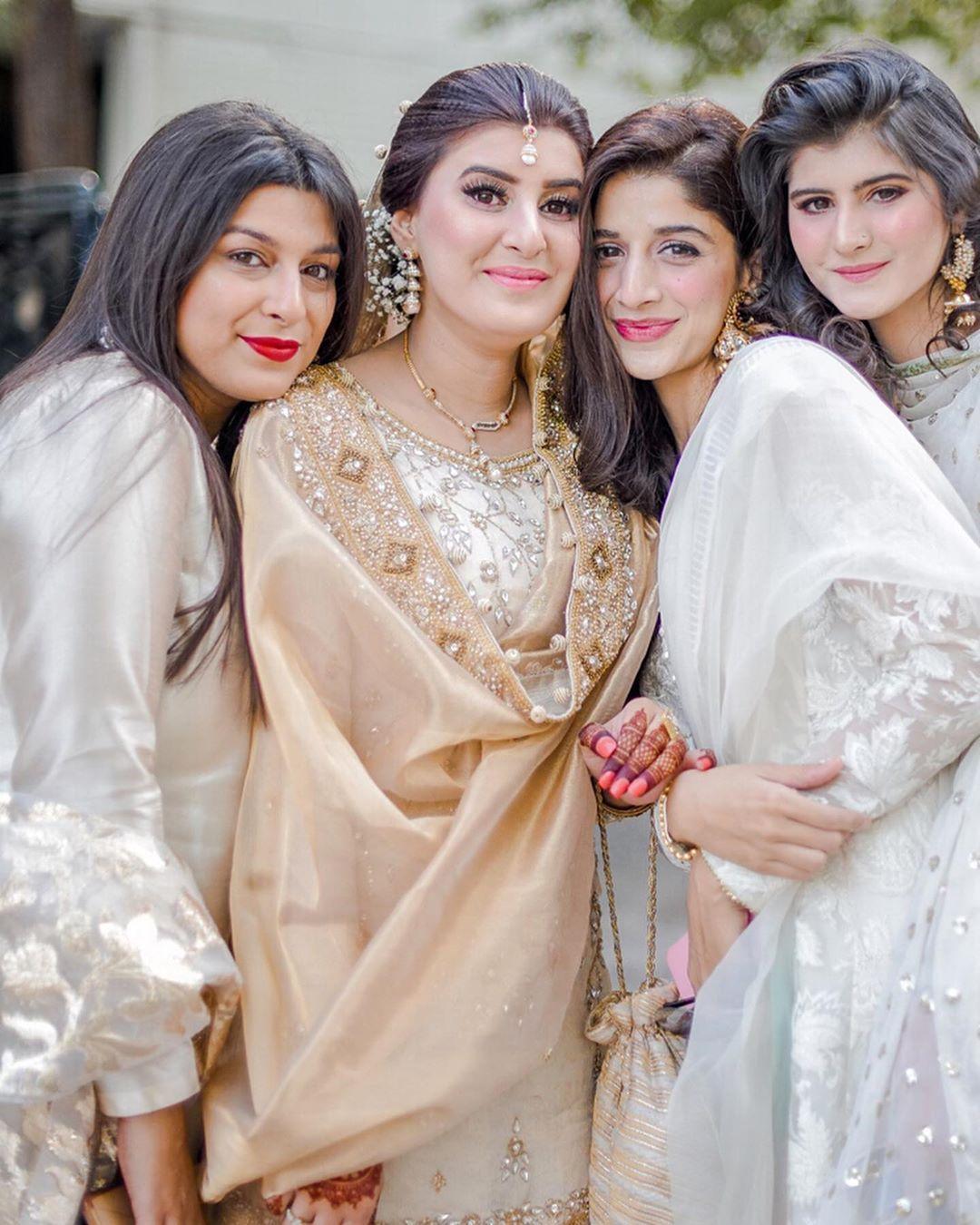 Beautiful Mawra Hocane at her Best Friend's Nikah Event