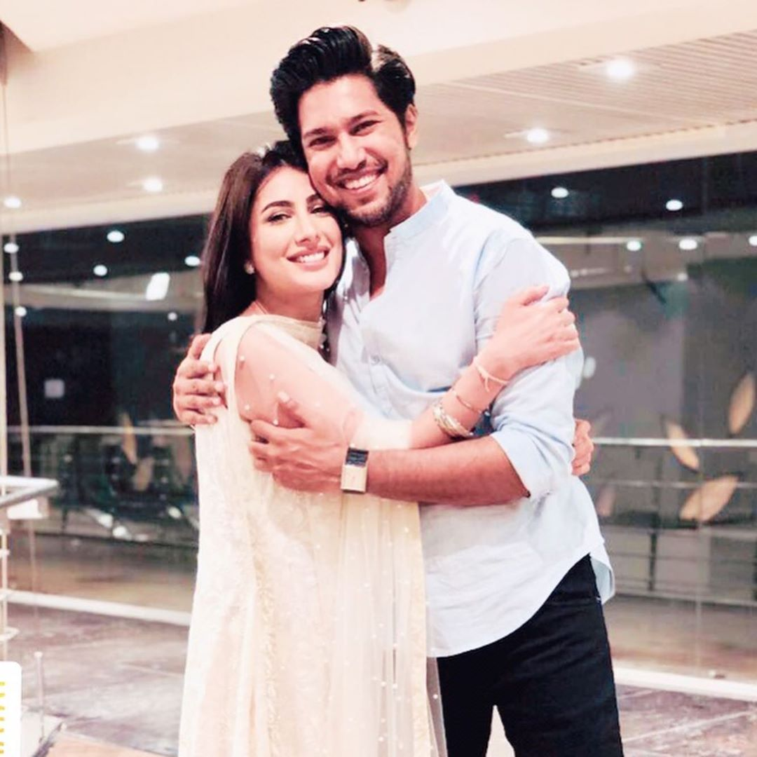 Mehwish Hayat Shared Pictures of her Brother with Sweet Message