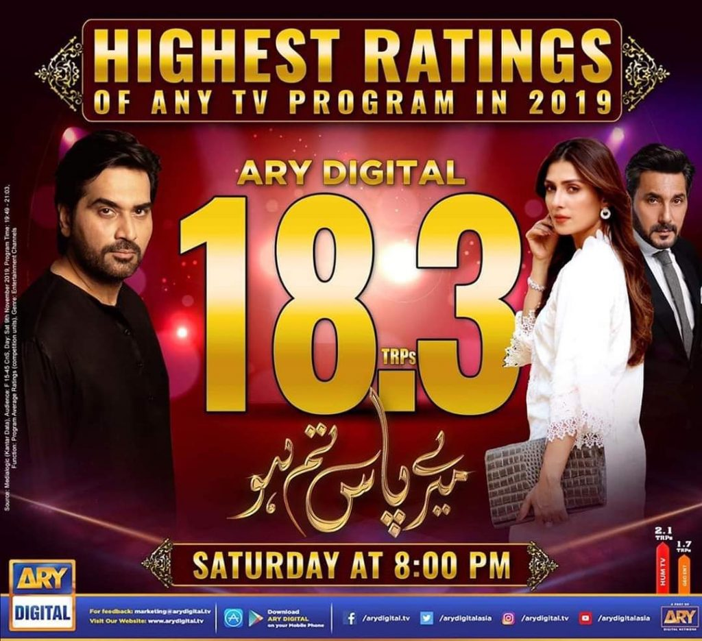 Mere Paas Tum Ho Has The Highest Ratings Of Any Program In 2019 1 1