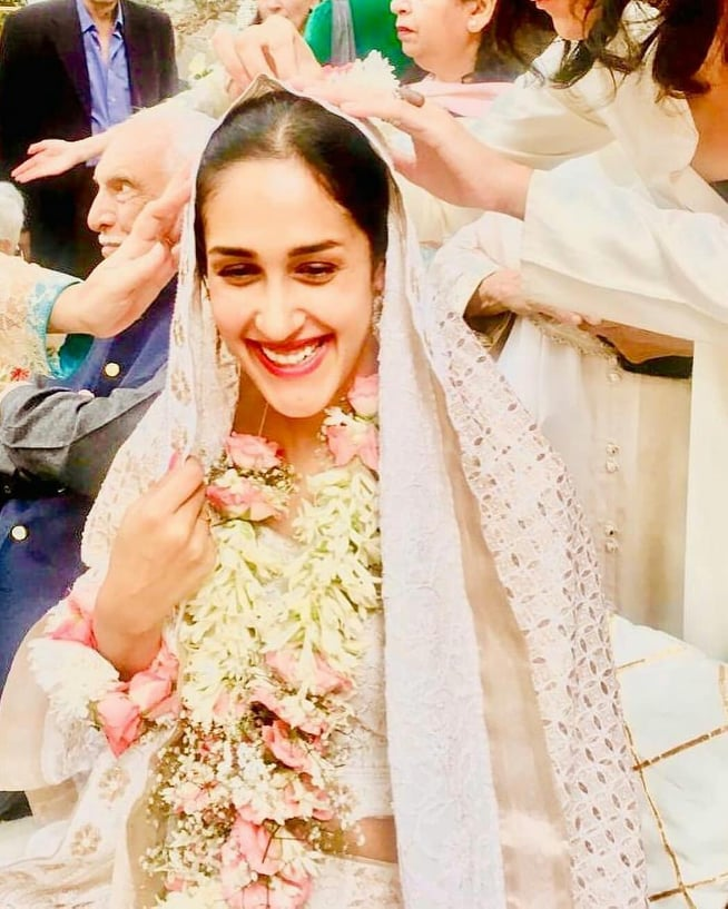 Wedding Party Pictures of Mira Sethi from USA