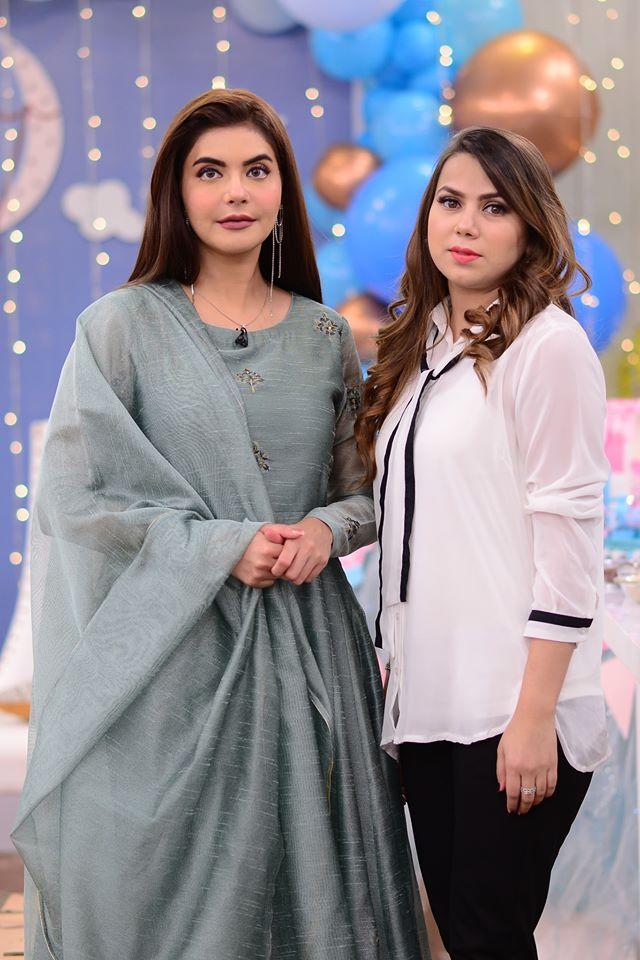 Mizna Waqas with Baby 23