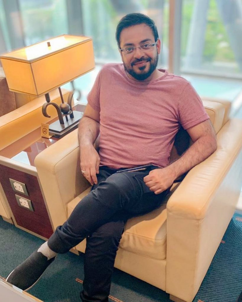 People Are Commenting On Aamir Liaquat's Shirt