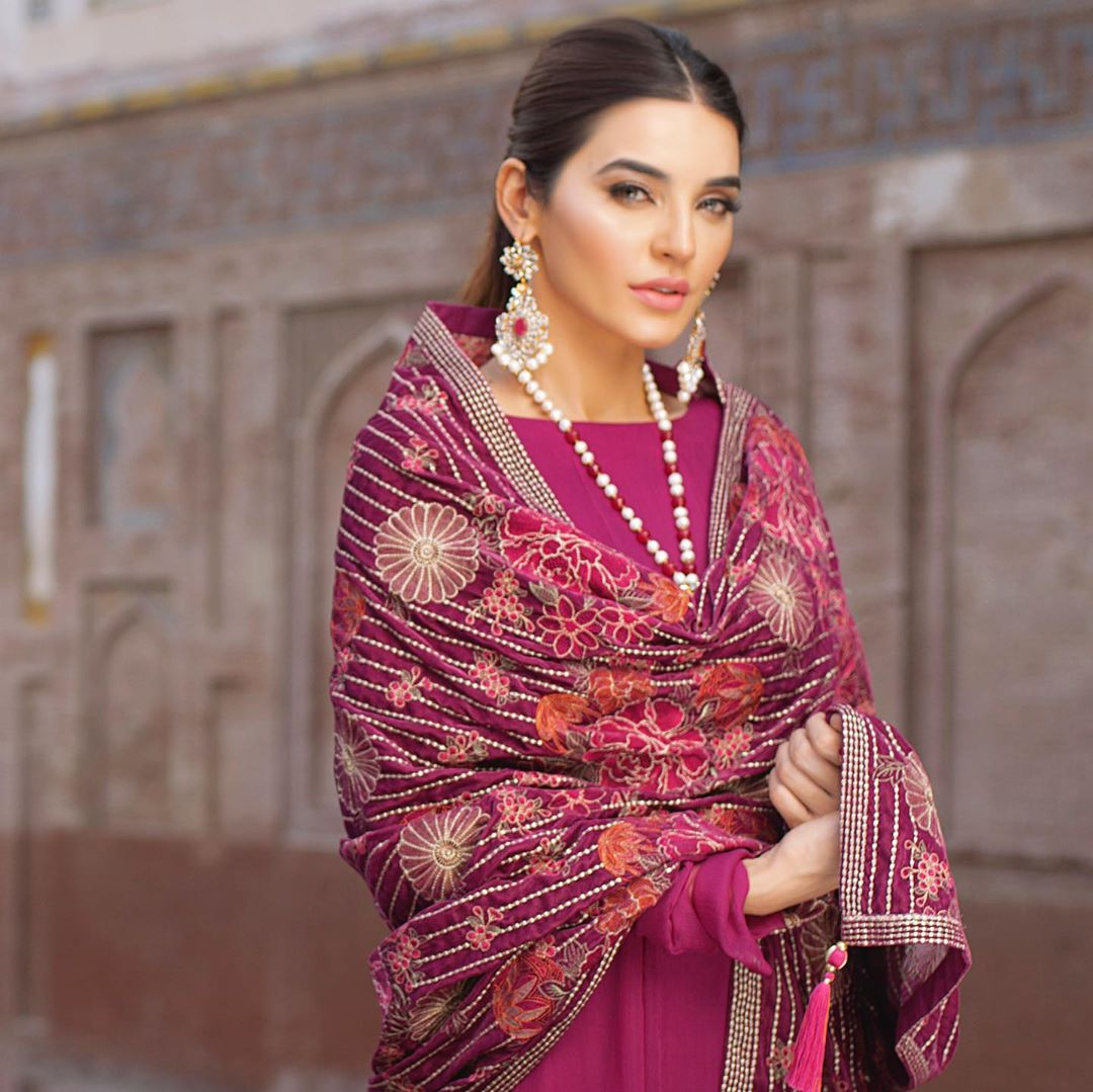 Sadia Khan Latest Photo Shoot for Kayseria