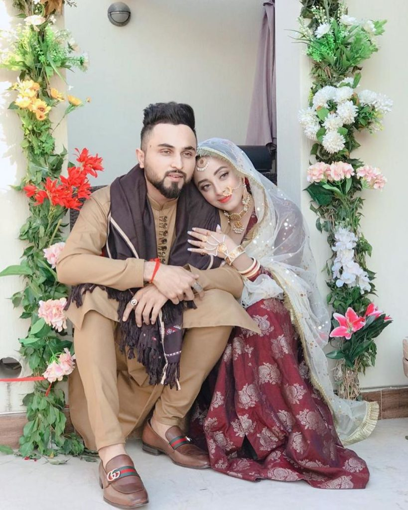 Actress Sanam Chaudhry ties the knot with singer Somee Chohan