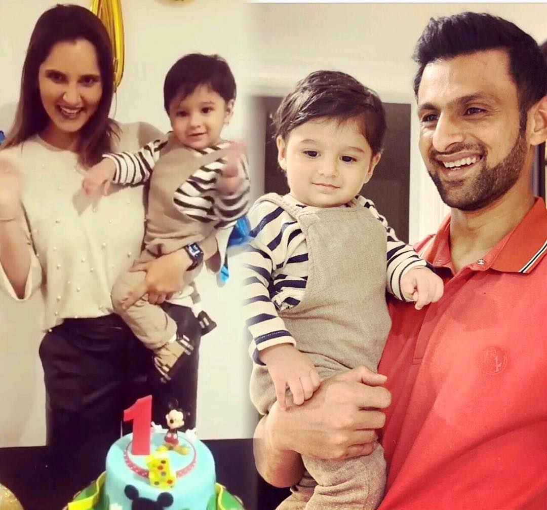 Sania Mirza and Shoiab Malik Celebrated First Birthday of their Son Izhaan