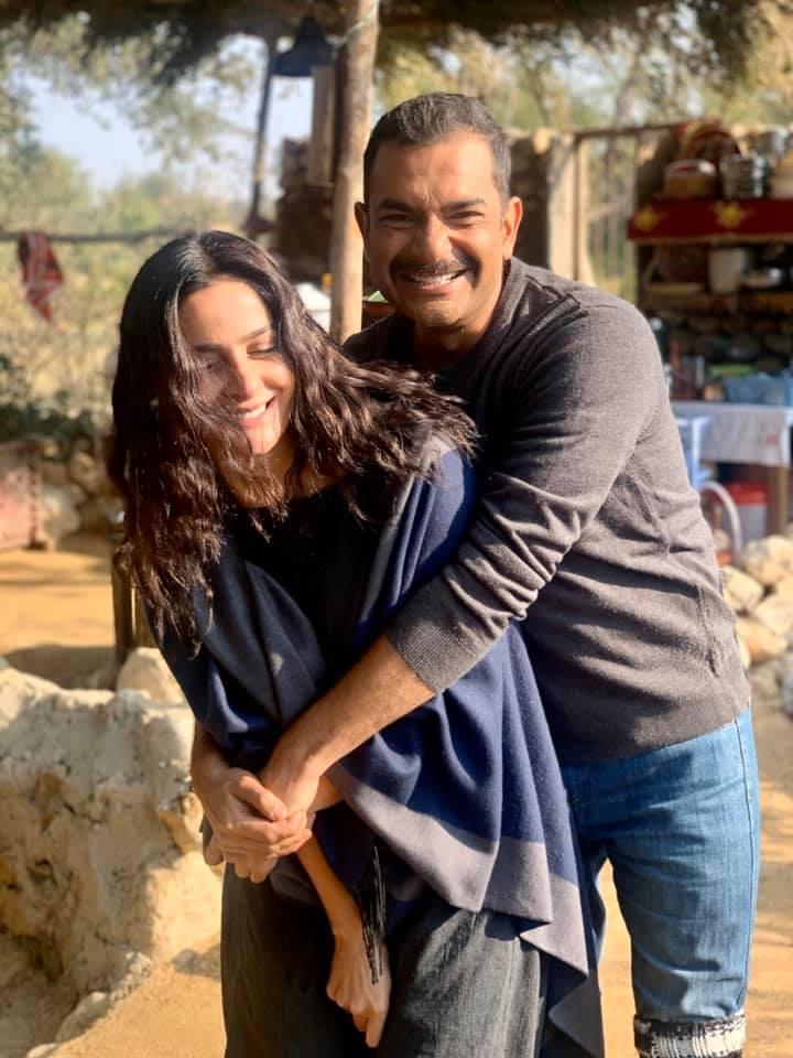 Sarmad Khoosat is all praises for co-star Saba Qamar