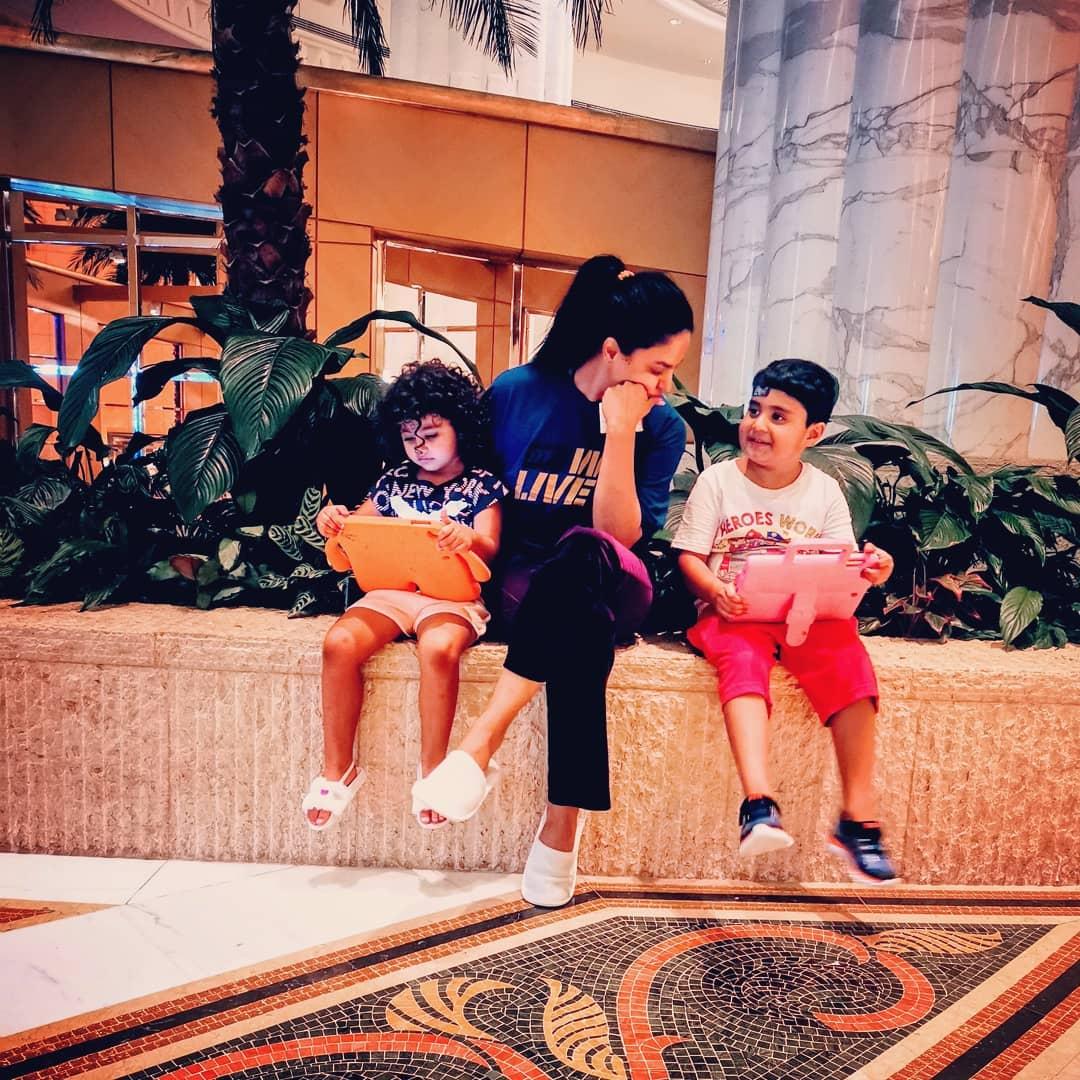 Veena Malik Kids 9