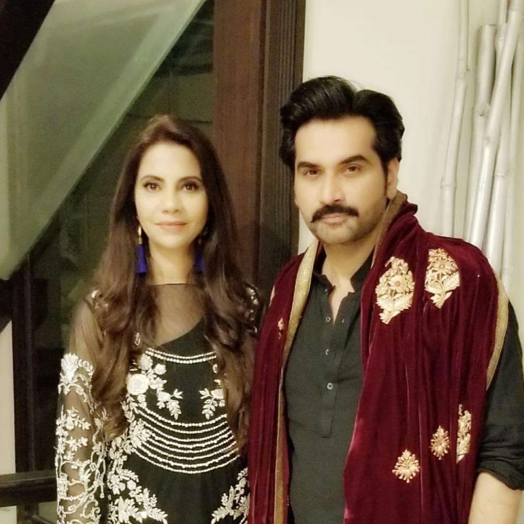 Humayun Saeed Wife Samina - 35 Romantic Pictures
