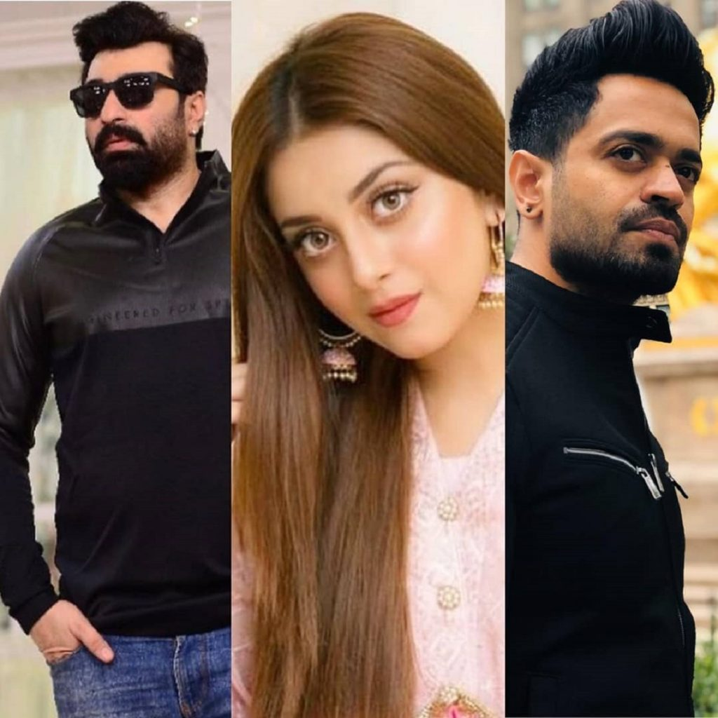 Yasir Nawaz, Alizeh Shah and Naveed Raza In A New Project