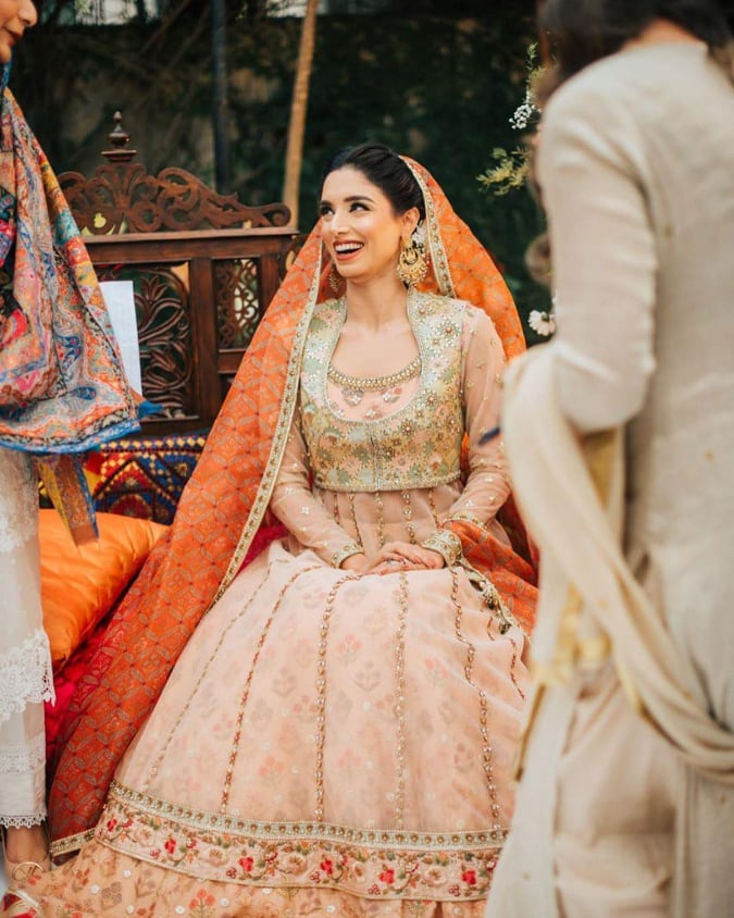 Beautiful Pictures Collection from Zainab Abbas's Nikah, Mayun And Dholki