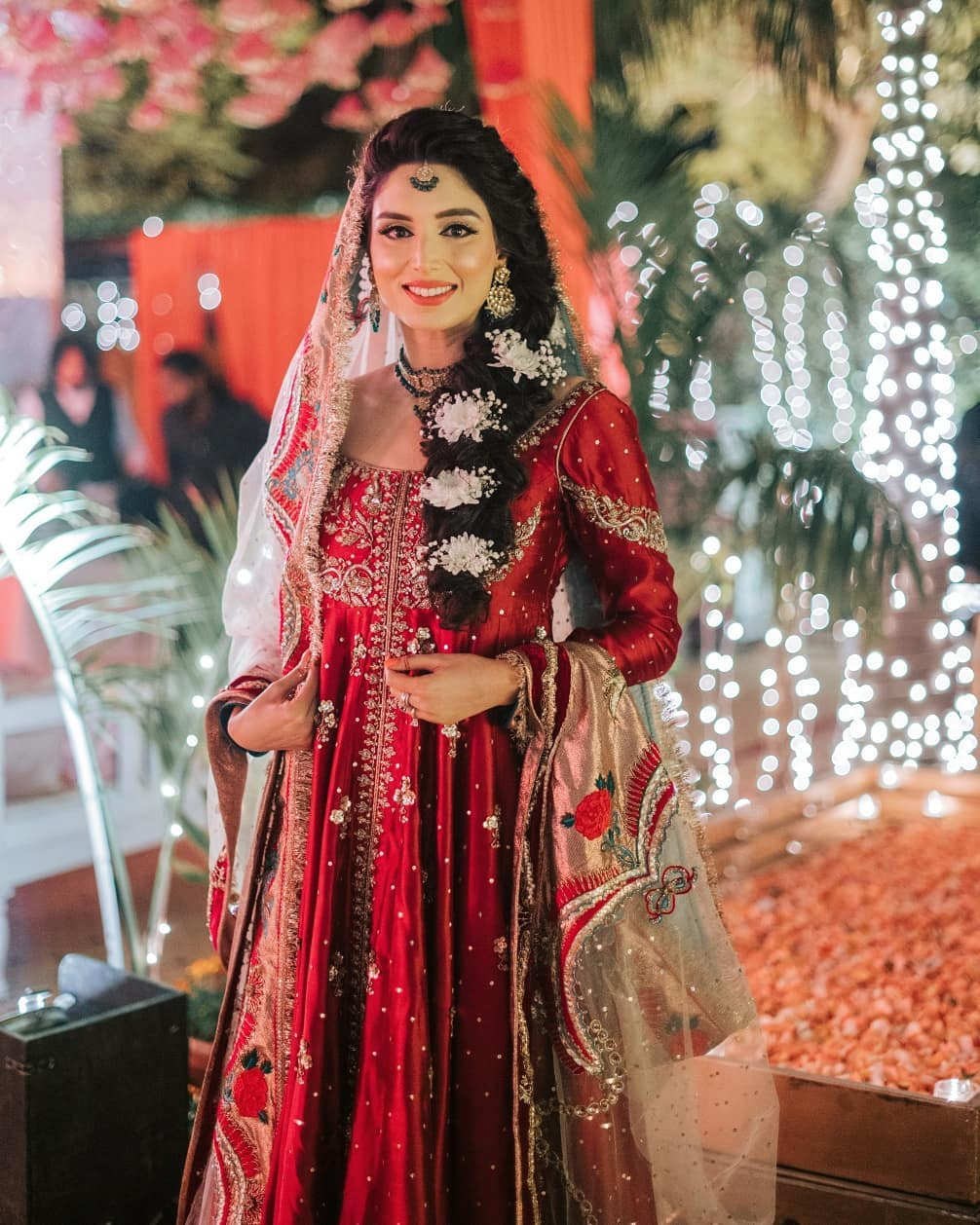 Beautiful Zainab Abbas Wedding Pictures