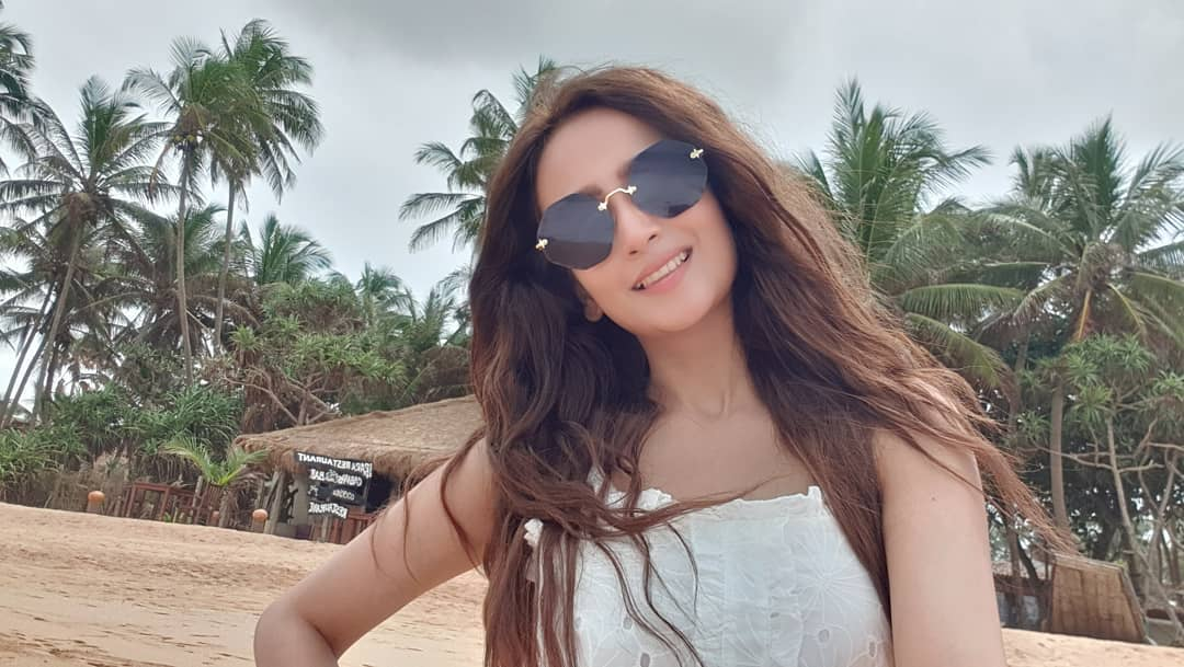Actress Zarnish Khan looks lovely at the beach in Thailand