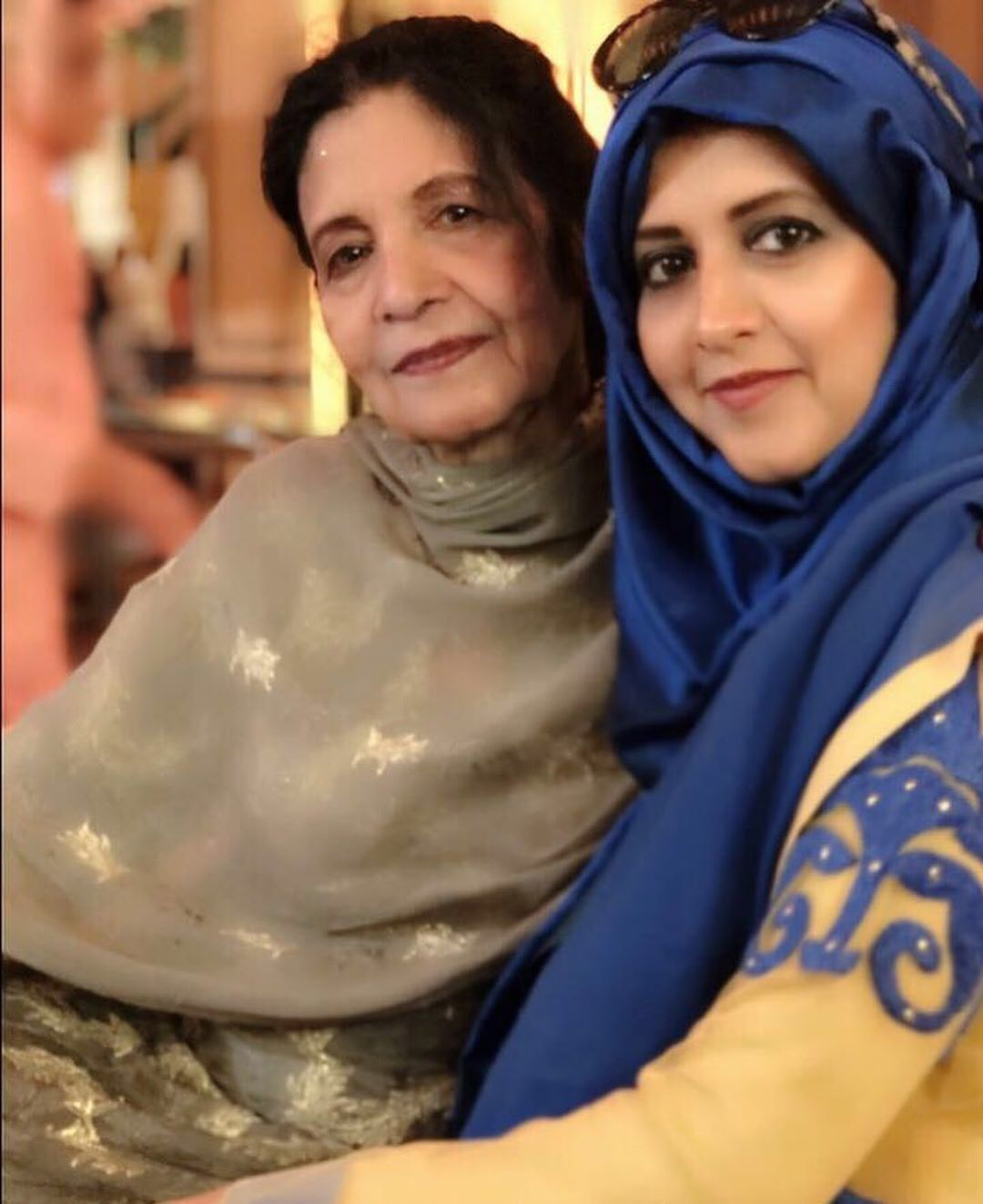 Latest Pictures of Bushra Aamir with her Daughter and Son