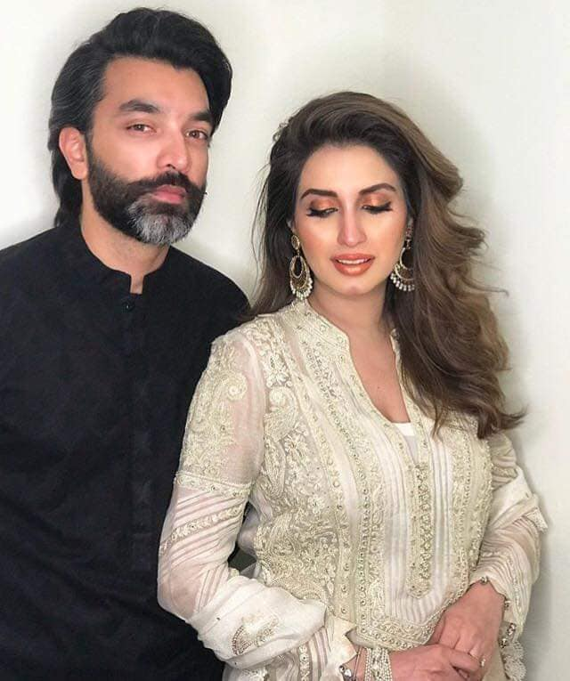 Latest Beautiful Clicks of Actress Iman Ali with her Husband