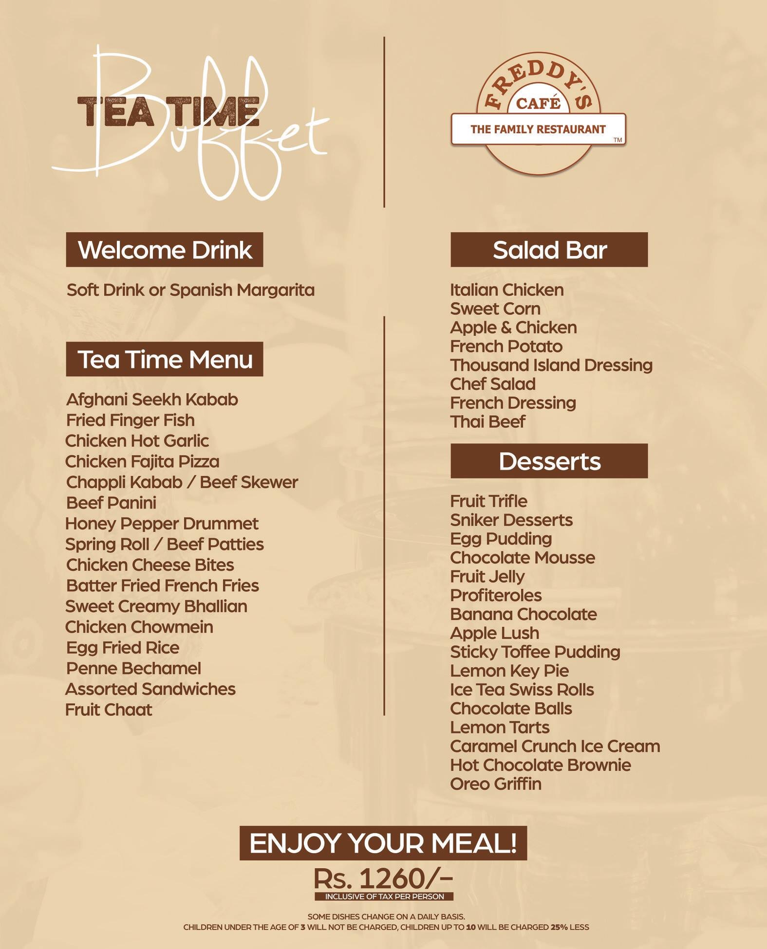Hi-Tea in Lahore - Top 5 Best Places You Can Visit