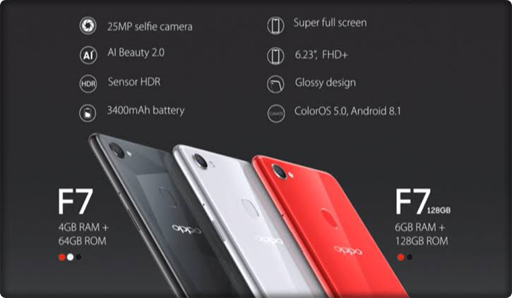 Oppo F7 price in Pakistan   Cheap Market Rates