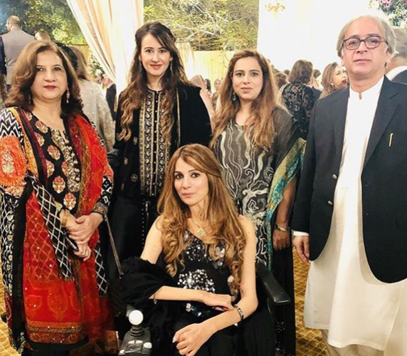 Reception Pictures of Actress Mira Sethi And Bilal