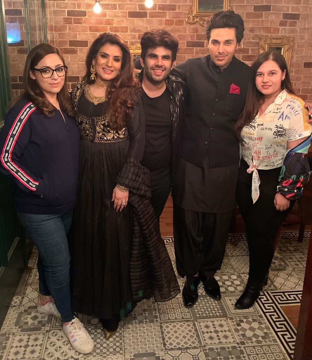 Celebrities Spotted at the Birthday Party of Momin Ali Munshi in Lahore