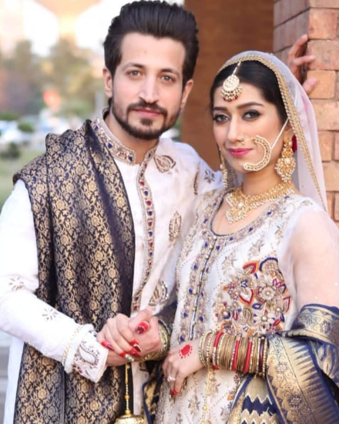 Actor Salman Faisal's Wife Neha Birthday Pictures