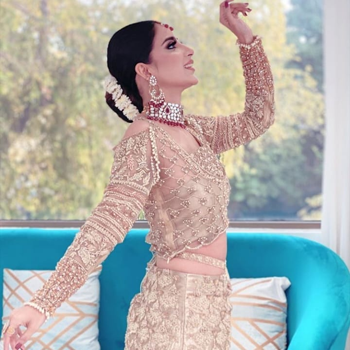 Actress Saboor Aly Beautiful Photo Shoot for Amna Arshad